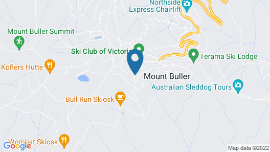 Breathtaker Hotel and Spa, Mt. Buller Map