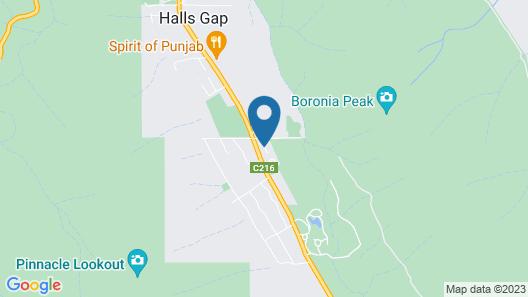 Boronia Peak Villas Map