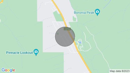 Grampians Hillside Retreat a Relaxing Getaway in Halls Gap Map
