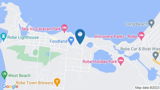 Robetown Motor Inn & Apartments Map