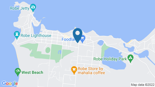 Guichen Bay Motel Map