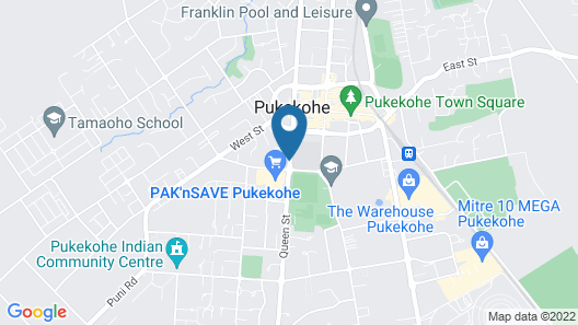 Parkview Motor Inn, Pukekohe Map