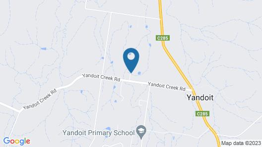 Yandoit Church Map