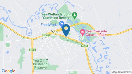 Yea Peppercorn Hotel Map