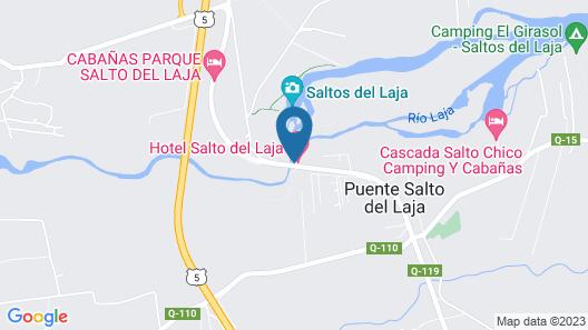 Hotel Salto del Laja Map