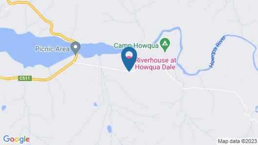 Riverhouse at Howqua Dale Map