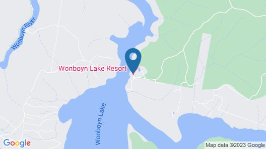 Wonboyn Lake Resort Map