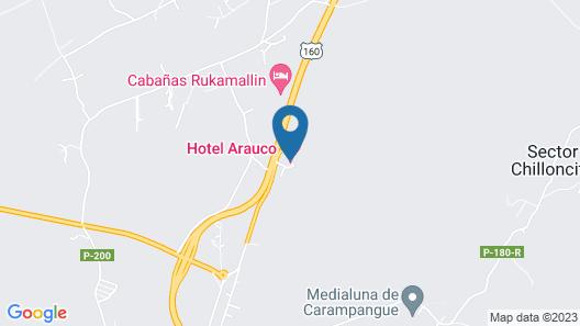 Hotel Arauco Map