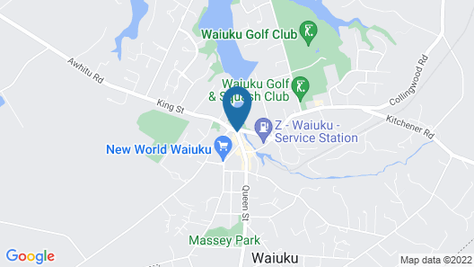 The Kentish Hotel Map