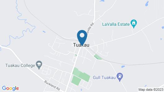 Tuakau Hotel Map