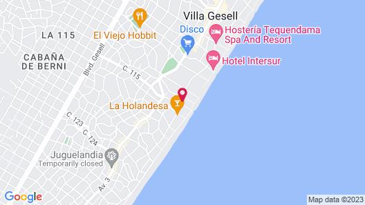 Alpemar Apart Hotel & Spa Villa Gesell Map