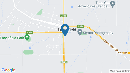 The Lancefield Lodge Map