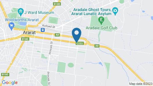 Ararat Motor Inn Map