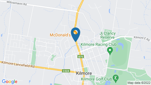 Fox on the Run - Motel Kilmore Map
