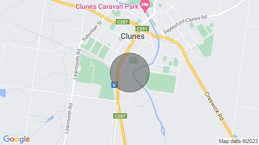 Kookaburra Walk About. Map