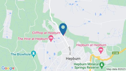 Clifftop at Hepburn Map