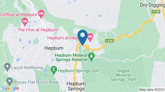 Hepburn Spa Retreat Map