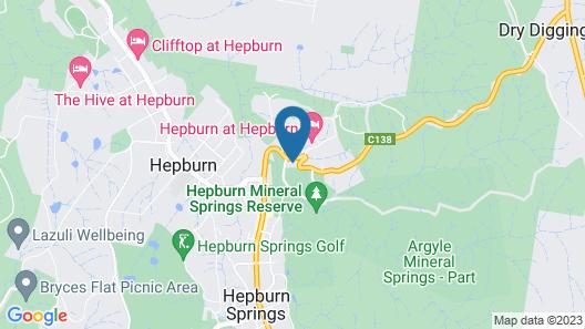 Hepburn Escape Villa Map