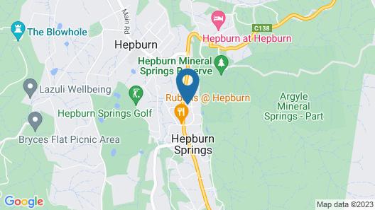 Zelman Cottage Map