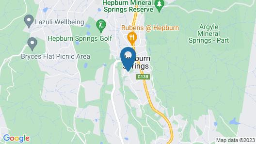 Hepburn Villas Map