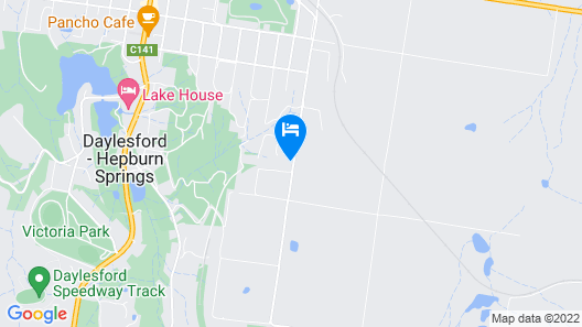 East St at Daylesford Map
