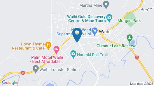 Goldmine Motel Map