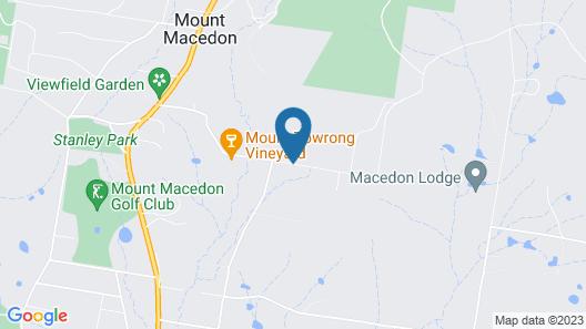 Braeside Mt Macedon Country Retreat & Bed & Breakfast Map
