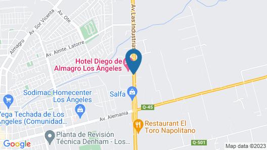 Diego de Almagro Los Angeles Map