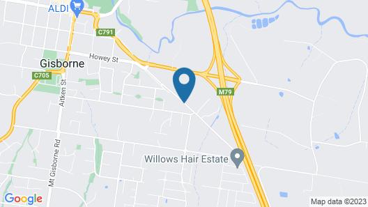 Gisborne Motel Map