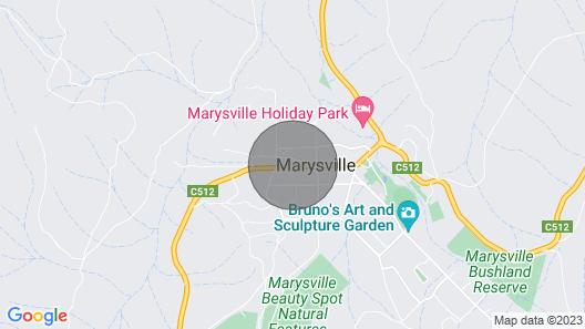 Sugarloaf - Perfect Adult Retreat Map