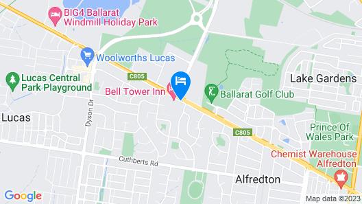 Alfred Motor Inn Map