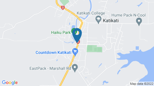 ASURE Kaimai View Motel Map