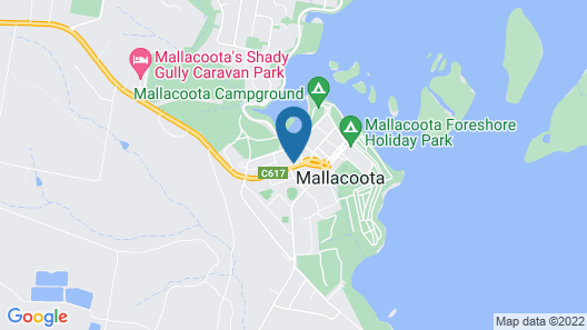 Coull Waters Holiday Apartments Map