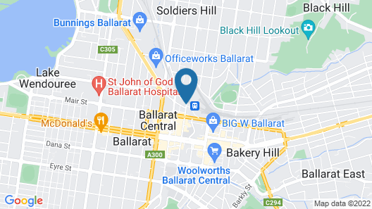 The Provincial Ballarat Map