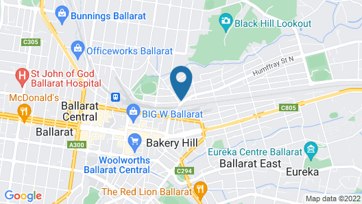 The Eastern Hotel Map