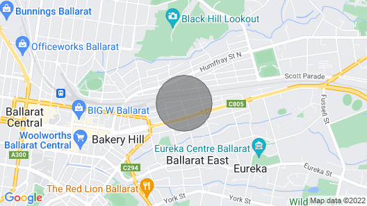 Ballarat East. 2br A/C Netflix and Wifi Map