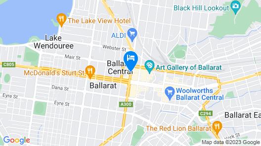 Mid City Ballarat Map