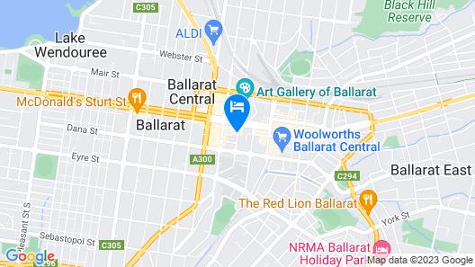 Craig's Royal Hotel Map