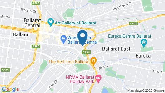 Barkly Motorlodge Map