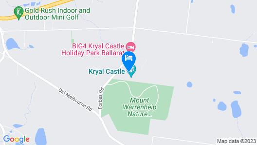 Kryal Castle Map