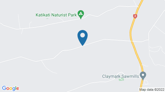 Fantail Lodge Country Estate Map