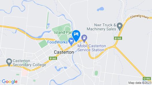 Glenelg Inn Hotel Motel Map