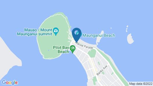 The Pavilions Beachfront Apartments Map