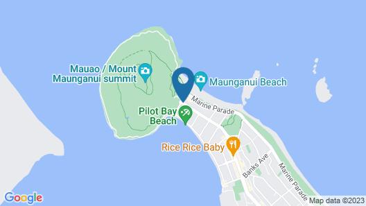 Oceanside Resort & Twin Towers Map