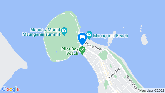 The Pacific Apartments Map