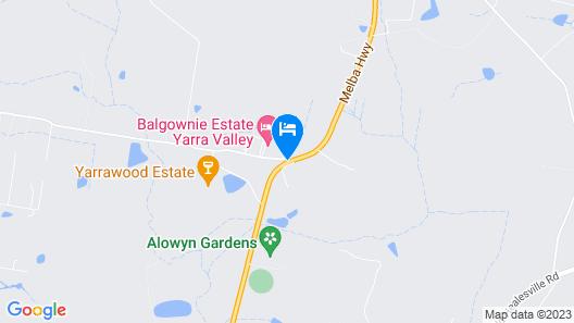 Balgownie Estate Vineyard Resort & Spa Map