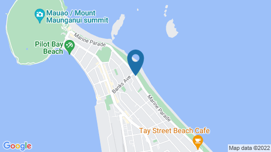 Belle Mer Beach Front Apartments Map