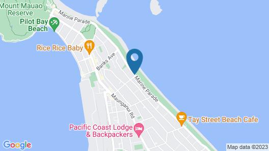Ocean Waves Motel Map