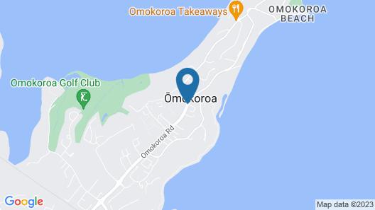 Omokoroa Kiwi Holiday Park Map