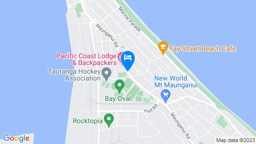 Aquarius Motor Inn Map